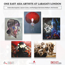 One East Asia Artists at Larasati London